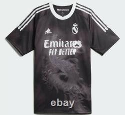 Adidas x Pharrell Williams Human Race Black Real Madrid Jersey Mens L Large NWT