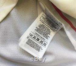 Authentic 2014/15 Adidas Adizero Real Madrid Varane Match UCL Jersey M kit shirt