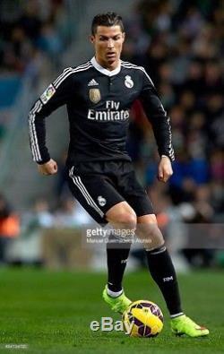 Authentic Adidas Real Madrid Ronaldo 2014-15 Adizero player issue jersey (read)