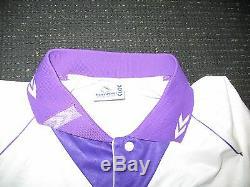 Authentic Real Madrid Hummel 1993 1994 ZAMORANO ERA Jersey Camiseta Shirt L