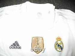 Authentic Real Madrid Ronaldo 2015 2016 Jersey Camiseta Shirt Maglia L
