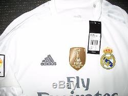 Authentic Real Madrid Ronaldo 2015 2016 Jersey Camiseta Shirt Maglia M NEW