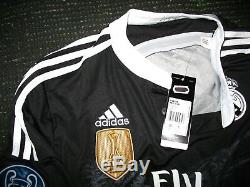 Authentic Real Madrid Ronaldo Dragon Y-3 2014 2015 UEFA Jersey Camiseta Shirt L