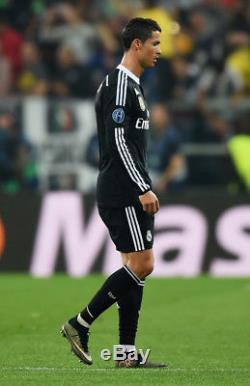 Authentic Real Madrid Ronaldo Dragon Y-3 2014 2015 UEFA Jersey Camiseta Shirt XL