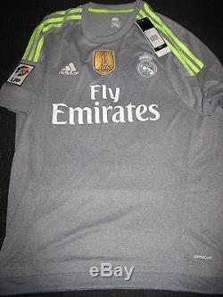 detailed pictures e3e7f 1da47 Authentic Real Madrid Ronaldo Gray 2015 2016 Jersey Camiseta ...