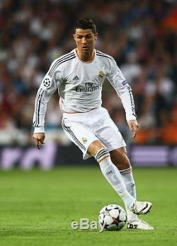 Authentic Real Madrid Ronaldo UEFA 2013 2014 Jersey Camiseta Shirt Maglia S