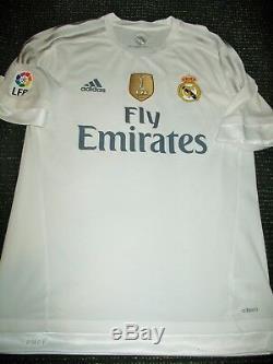 Authentic Ronaldo Real Madrid 2015 2016 ADIZERO Issue Jersey Camiseta Shirt L