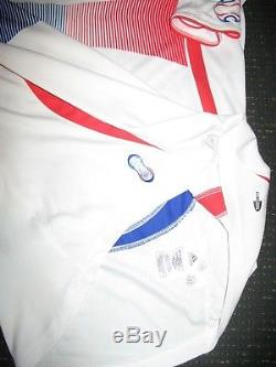Authentic Zidane France 2006 WC LAST GAME Jersey Real Madrid Maillot Shirt M