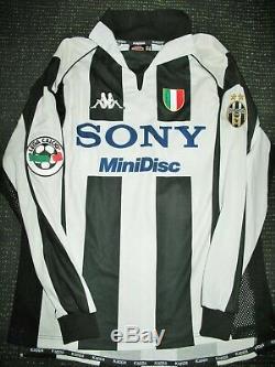 newest dd37e 1d604 Authentic Zidane Juventus 1997 1998 Jersey Shirt Camiseta ...