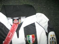 Authentic Zidane Juventus 1997 1998 Jersey Shirt Camiseta Maglia Real Madrid M