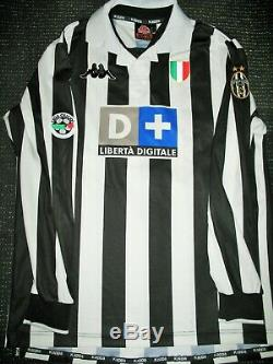 Authentic Zidane Juventus 1999 2000 Jersey Shirt Camiseta Maglia Real Madrid L