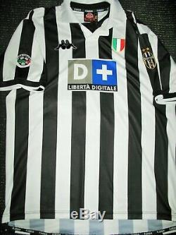 Authentic Zidane Juventus 1999 2000 Jersey Shirt Camiseta Maglia Real Madrid XL