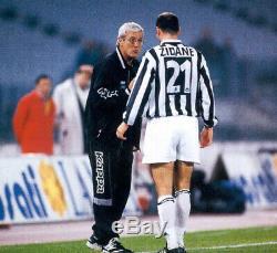 Authentic Zidane Juventus Kappa 1996 1997 Long Sleeve Jersey Shirt Real Madrid M