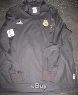 Authentic Zidane Real Madrid Jersey 2001 2002 Match Issue Debut France Camiseta