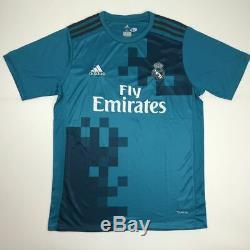 Autographed/Signed CRISTIANO RONALDO Real Madrid Blue Jersey Beckett BAS COA