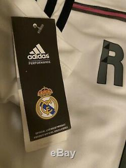 Autographed/Signed CRISTIANO RONALDO Real Madrid White Jersey COA