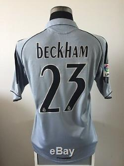 BECKHAM #23 Real Madrid Third Football Shirt Jersey 2005/06 (M)