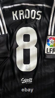BNWT Official Real Madrid 2014 2015 Yamamoto Shirt Kroos Liga Edition Jersey (M)