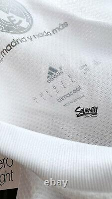 BNWT Real Madrid 2015 2016 Player Issue Shirt Official Adizero Jersey (L)