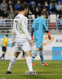 BNWT Real Madrid Official Jersey 2015 2016 Ronaldo Long Sleeve Shirt (M) Liga