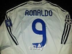 BNWT Ronaldo Real Madrid 2006 2007 UEFA Jersey Brazil Camiseta Barcelona Shirt