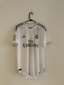 Bale #11 Real Madrid LFP 2019/20 Large Authentic Home Shirt Jersey Adidas BNWT