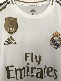 Benzema Real Madrid Matchworn Shirt Jersey 19/20 Porté Maillot Trikot France