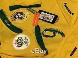 Brazil Ronaldo Soccer Jersey Fifa World Cup Germany 2006 Barcelona Real Madrid