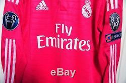 CR7 size 8 ADIZERO Christiano RONALDO Real MADRID match worn shirt jersey
