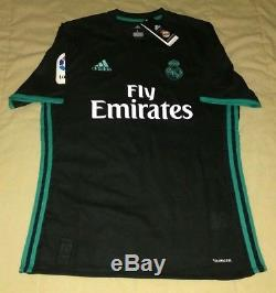 CRISTIANO RONALDO hand autographed signed 2018 Real Madrid Away jersey Portugal