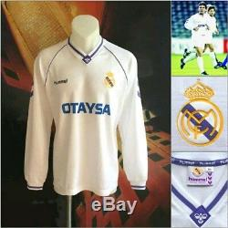 Camiseta Real Madrid 1991-1992. (Jersey, shirt, retro, vintage, otaysa, hummel)