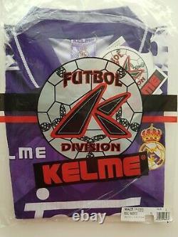 Camiseta Real Madrid 1995 1996 Kelme shirt jersey L nwt