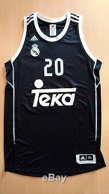 Camiseta baloncesto basketball jersey Jaycee Carroll Real Madrid 2XL euroleague