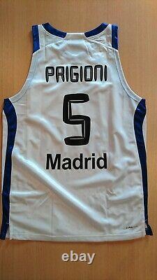 Camiseta baloncesto basketball jersey Pablo Prigioni Real Madrid Euroleague