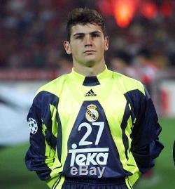 Camiseta portero Iker Casillas Real Madrid 1999-2000 maglia trickot jersey