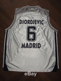 Canotta DJORDJEVIC REAL MADRID basketball FIBA camiseta jersey trikot maillot