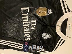 Chicharito Real Madrid Third Dragon Adizero Jersey Long Sleeve New WithDefect