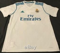 Christiano Ronaldo Signed Adidas Real Madrid Soccer Jersey Autograph BECKETT COA