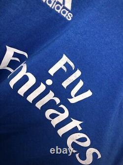 Cristiano Ronaldo 2013/2014 Real Madrid Jersey Size Medium RARE AUTHENTIC blue