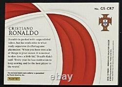 Cristiano Ronaldo 2018-19 Immaculate Jersey Patch 01/75 Match Worn #1