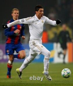 Cristiano Ronaldo #7 Real Madrid 2011 12 Jersey MATCH ISSUED RARE Champions CSKA