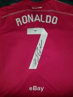 Cristiano Ronaldo Auto Real Madrid Pink Jersey