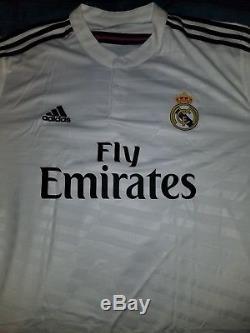 Cristiano Ronaldo Auto Real Madrid White Jersey