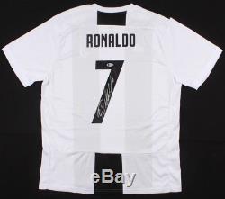 Cristiano Ronaldo Autographed Jersey Juventus Real Madrid COA