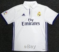 Cristiano Ronaldo Autographed Real Madrid Adidas White Jersey XL Psa/dna 116587