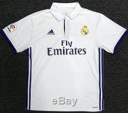 Cristiano Ronaldo Autographed Signed Real Madrid Adidas White Jersey XL Psa/dna