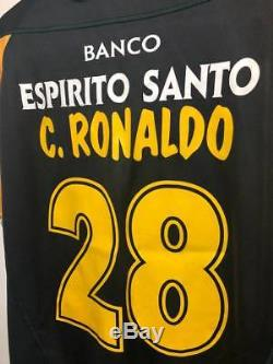 Cristiano Ronaldo CR7 x Sporting Lisbon 2002-2003 Season Real Madrid Juventus