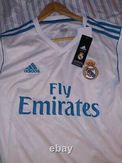 Cristiano Ronaldo Real Madrid Hand Signed Jersey With Coa