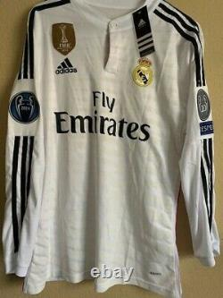 Cristiano Ronaldo Real Madrid Home Jersey Player Issue Size Medium