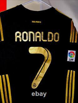 Cristiano Ronaldo Real Madrid Long Sleeve 2013 Super Rare Size Large